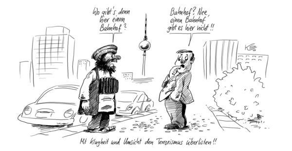 Klaus Stuttmann - Terrorismus in Berlin