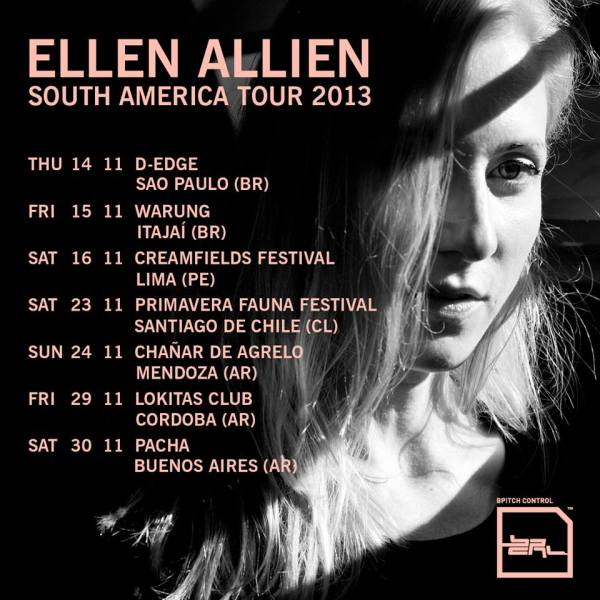 Ellen Allien - South America Tour