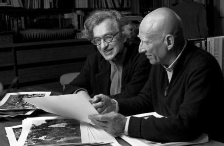 Wim Wenders e Sebastião Salgado